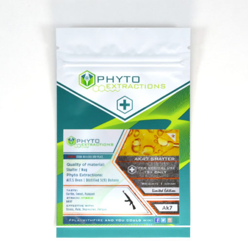 AK-47 Shatter (Phyto Extractions)